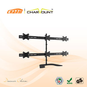 "Table Mount TV Bracket for 10""-25"", Wholesale TV Mounting Bracket (CT-LCD-DS1206) pictures & photos"