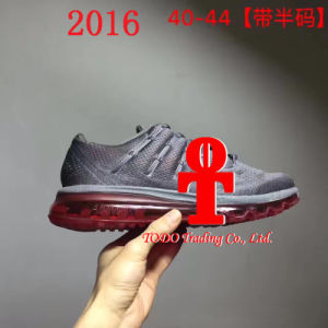 Men′s Shoes 2016 New Men′s Air Cushion Running Shoes Sports Shoes pictures & photos