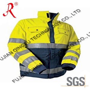 83. The Latest Winter Waterproof Reflective Safety Jacket (QF-538) pictures & photos