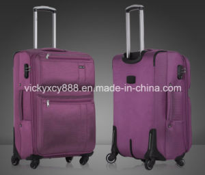Wheeled Trolley Luggage Business Travel Case Bag Suitcase (CY5825) pictures & photos