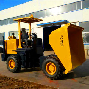 Latest Popular All-Terrian 5.0ton Front Dumper pictures & photos