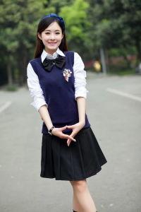 2016high School Skirt Uniform for Girl, Bespoke Uniform pictures & photos