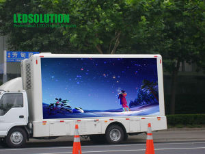 Mobile LED Display P10 pictures & photos