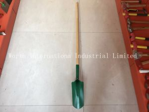 Strench Spade Long Wood Handle pictures & photos