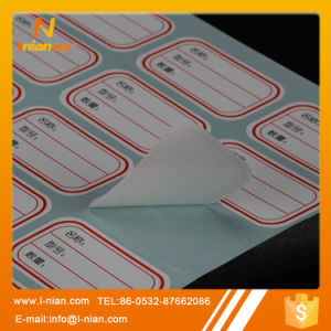 Custom Self Adhesive Writable Blank Paper Sicker