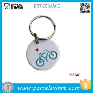 Adorable Simple Ceramic Key Chain Ornament pictures & photos