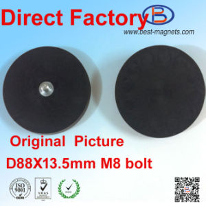 Direct Factory of Permanent Neodymium Rubber Coated/Coating/Covering Magnet Pot/Gripper pictures & photos