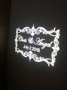 LED Projector Gobo Naming Monogram Wedding Light pictures & photos