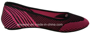 Leisure Women Footwear Comfort Lifestyle Flyknit Ladies Shoes (516-5998) pictures & photos