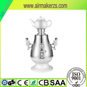 Plastic Kitchen Appliance Samovar with Glass Teapot pictures & photos