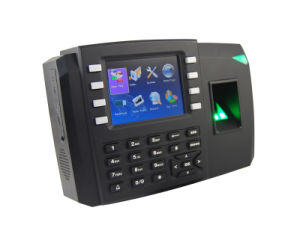 Multimedia Fingerprint Time Attendance & Access Control System (TFT600) pictures & photos