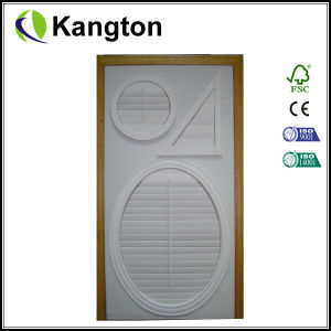 CE Plantation Wood Shutters (louver door) pictures & photos