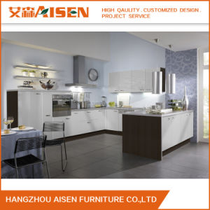 Modern Design Customize fashion White PVC Kitchen Cupboards pictures & photos