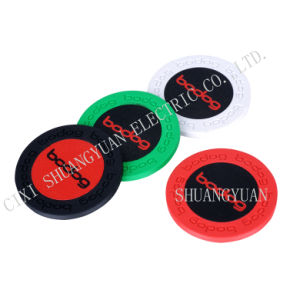 9.5g Pure Clay Sticker Poker Chip with Bodog Engraved on The Edge (SY-C16-1) pictures & photos