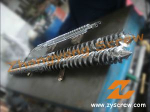 Parallel Twin Screw and Barrel for PVC Extrusion Screw Barrel pictures & photos