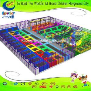 Professional Factory Kids Amusemet Park Equipment Customized Trampoline Park pictures & photos