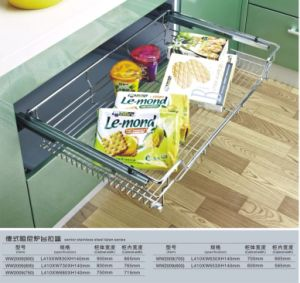 Magic Corner-Kitchen Pull Basket (005) pictures & photos