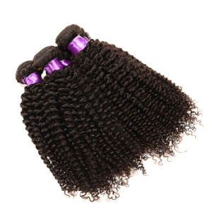 Grade 8A Malaysian Virgin Hair 3PCS Malaysian Kinky Curly Virgin Hair Bundles Unprocessed Malaysian Curly Hair Human Hair Weave pictures & photos