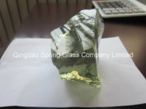 Light Green Glass Rocks From Factory pictures & photos