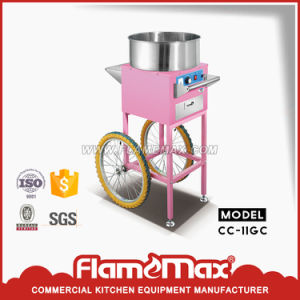 Cc11gc Christmas Cart as Gift Gas Cotton Candy Machine with Cart pictures & photos