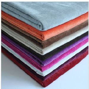 Polyester Flocking Fabric for Sofa Fabric/Home Textile Fabric/Nylon Flocking Fabric