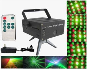 6 in 1 Mini Stage Lights with Remote Controller (XL-SL-108)