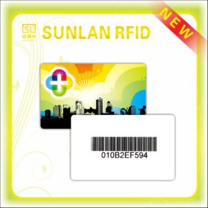 Laser Mark RFID PVC/ Pet Smart Card with Offset Print (SL-1055) pictures & photos
