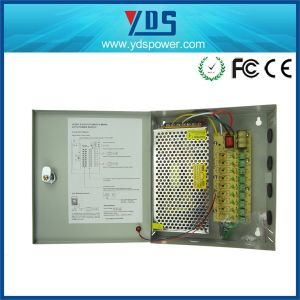 CCTV Power Supply Box 12V 15A 9CH pictures & photos