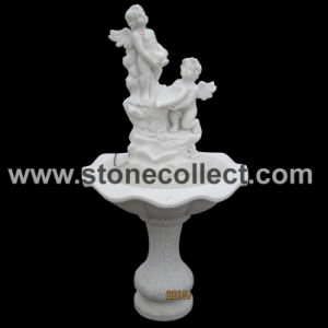 Pure White Marble Fountain pictures & photos