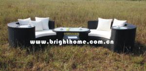 Leisure Wicker Garden Outdoor Sofa Set Bp-873b pictures & photos