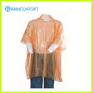 Clear Promotional PE Rain Poncho Rvc-118A pictures & photos