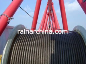 Dia 32 Mm Steel Wire Rope with Oil