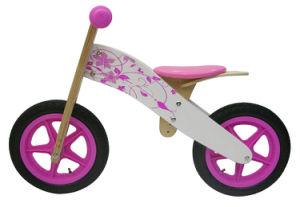 Wooden Children Bikes Balance Kids Baby Bike for Age 3+ (TTWB003-2P)