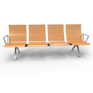 Leadcom 4 Seater Waiting Area Bench for Airport with Armrest (LS-529MF) pictures & photos