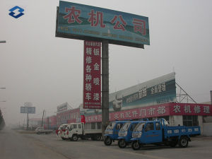 Two Sides Expressway Ad Board Billboard Steel Poles pictures & photos