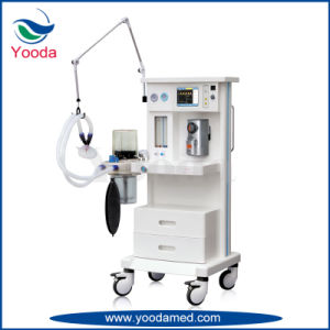 Economic Type Anesthesia Machine with Ventilator pictures & photos