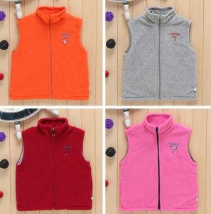 Custom Brand Logo Polar Fleece Children′s Vest pictures & photos