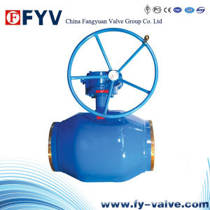 API 6D Fully Welded Trunnion Ball Valve pictures & photos