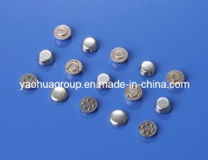 Agcdo/Cuni, Agni/Cuni, AG/Cu/Fe Electric Button Contact Tips