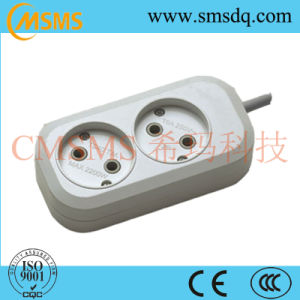 European Style 2way Extension Power Cord Socket-SMS42220r pictures & photos