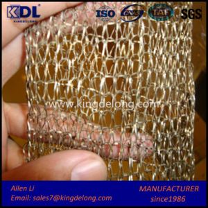 Knitted Flat Wire Vapor-Liquid Filter Mesh pictures & photos