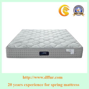 Bedroom Furniture Comfort Queen Size Spring Mattress pictures & photos