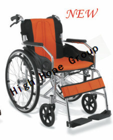 High Hope Medical - Aluminium Alloy Manual Wheelchair pictures & photos
