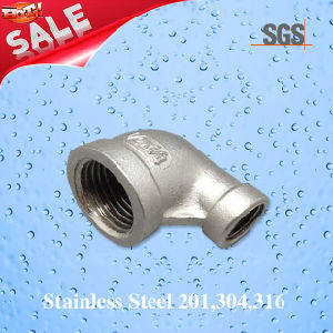 Stainless Steel Female Thread Reducing Elbow 90degree, Pipe Fittings 90 Degree Elbow pictures & photos