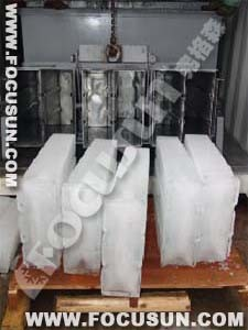 Brine System Ice Block Machine 12.5t/D/Fishery Industry/Chemical Cooling Block Ice Machine pictures & photos
