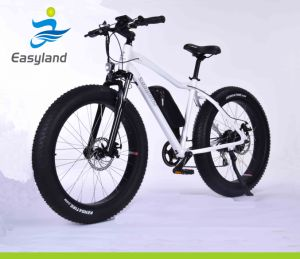 """26"""" Fat Tire Electric Bicycle Electric Mountain Bike with 48V 500W Motor pictures & photos"""