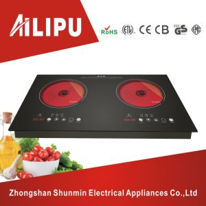 Double Head Infared Cooker Hotplates/BBQ Cooktop pictures & photos
