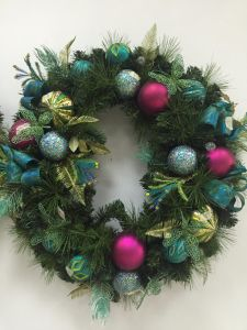 Christmas Wreath with Silk and Flora Deco (OEM welcome) pictures & photos