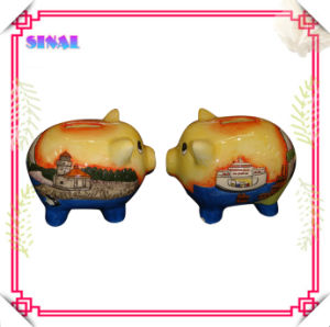 Ceramic Piggy Bank Money Bank for Souvenir Gifts