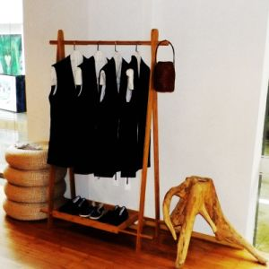 Bamboo Coat Hanger for Home Use pictures & photos